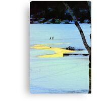 Walkin on Water Canvas Print