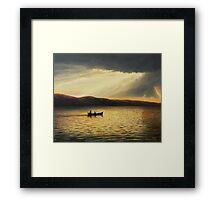 The Bay of Silence Framed Print