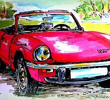 Triumph Spitfire 1500 by ©The Creative  Minds