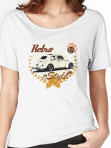Retro Style BUG T-Shirt Women's Relaxed Fit T-Shirt