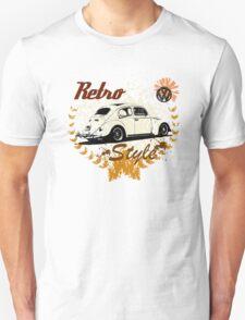 Retro Style BUG T-Shirt T-Shirt