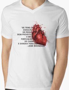 Jose Saramago Mens V-Neck T-Shirt
