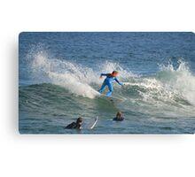 Bondi Surf Canvas Print