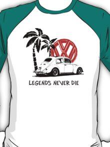 Legends Never Die - Retro BUG T-Shirt T-Shirt