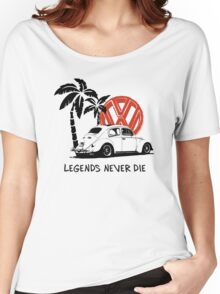 Legends Never Die - Retro BUG T-Shirt Women's Relaxed Fit T-Shirt
