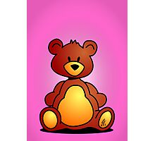 Cuddly Teddy Bear Photographic Print
