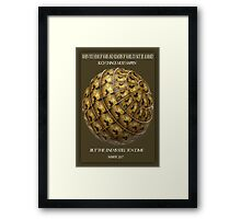 ✌☮ RUMORS OF WAR BIBLICAL WITH VIDEO I MADE HOURS AGO✌☮  Framed Print