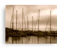 Ye olde ships. Canvas Print