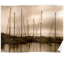 Ye olde ships. Poster