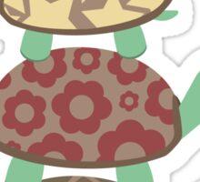 Turtle family Sticker