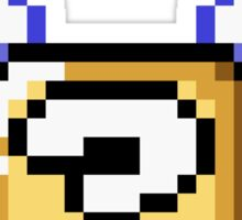 Flying question block Super Mario World Sticker