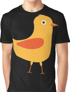 Yellow cute bird Graphic T-Shirt