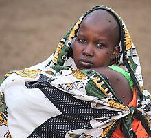 Masai Woman by CharlotteMorse