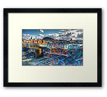 North Berwick Harbour Framed Print