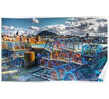 North Berwick Harbour Poster