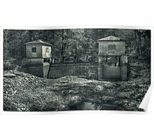 The Secluded Dam Poster