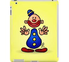 Cheerful circus clown iPad Case/Skin