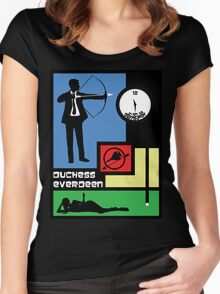 The Archer Games Women's Fitted Scoop T-Shirt