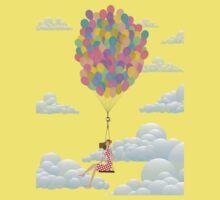 Balloon Girl Kids Clothes