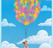 Balloon Girl by Wyattdesign