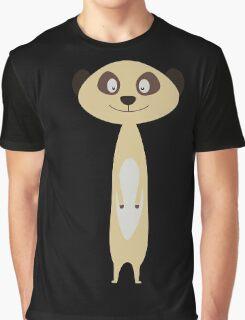 Cute little Meerkat Graphic T-Shirt