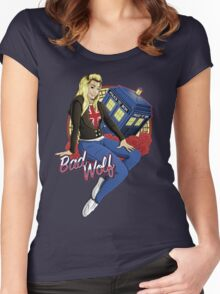 The Bad Wolf Women's Fitted Scoop T-Shirt