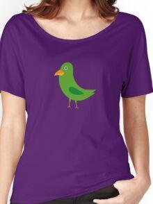 Green bird Women's Relaxed Fit T-Shirt