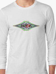 AMOK geometric waves T-Shirt