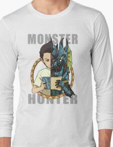 Monster Hunter Life (Azure Variant) Long Sleeve T-Shirt
