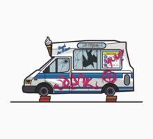 Wreck-ed Ice Cream Truck by Michael Baldwin