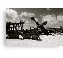 Wreck of the SS Mahino Canvas Print