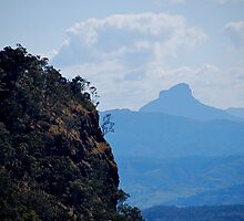 Mt. Warning from O'Rielly's Plateau by pictureit
