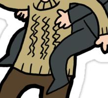 Sherlock & John- Piggyback Sticker