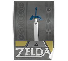 LoZ:  Ocarina of Time Poster