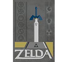 LoZ:  Ocarina of Time Photographic Print