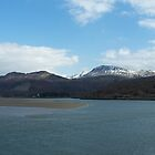 Cadair range from Barmouth by ShebeenStudios