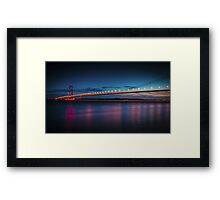 The Humber Bridge  Framed Print