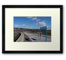Empty Quarters Framed Print