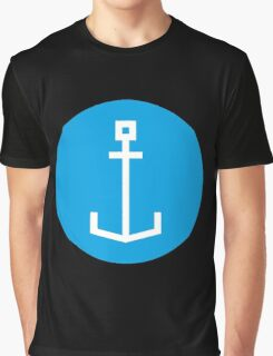 Square anchor Graphic T-Shirt