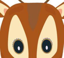Brown Deer Sticker