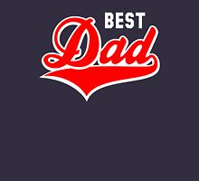 BEST Dad Tail-Design 2C Red/White Unisex T-Shirt