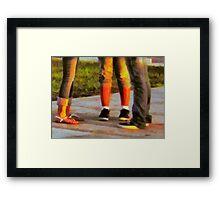 Social Networking Framed Print