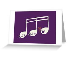 Sounds O.K (off key) Greeting Card