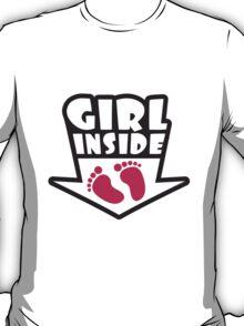 Girl Inside Feets T-Shirt