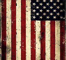 Retro USA Flag by chrishull