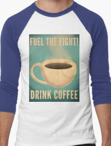 Fuel the Fight! Men's Baseball ¾ T-Shirt