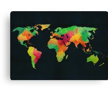 We are colorful Canvas Print