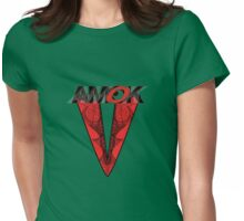 AMOK - tribal waves Womens Fitted T-Shirt