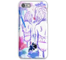 Techno Swimsuit iPhone Case/Skin