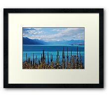 Lake Pukaki Framed Print
